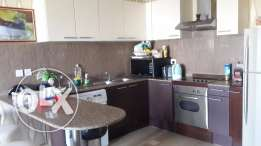 Amazing 2 bedrooms apartment fully furnished with pool & Sea