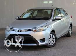 TOYOTA YARIS 2015 Silver For Sale