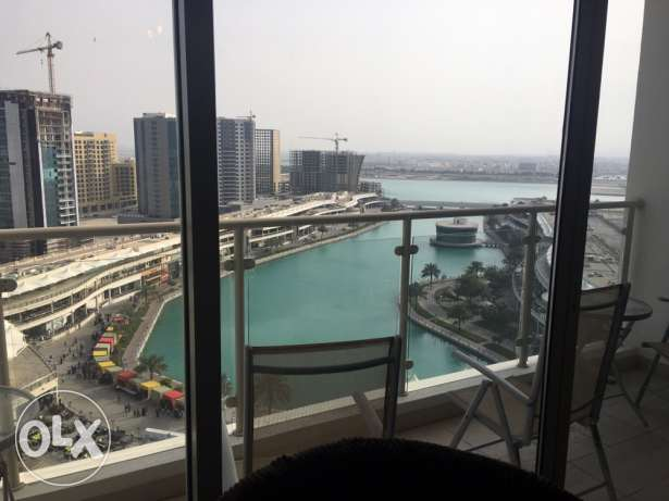 flat 2 bedroom for rent in zawia lagoon view in amwaj