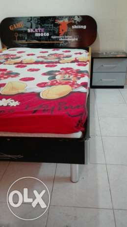Used kids bed and study table(reduced to be 30)