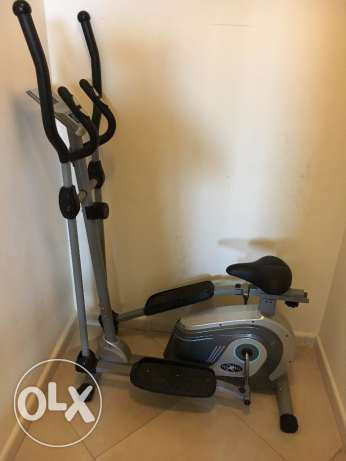 Pro-Image elliptical machine (cycle) hardly used for one month