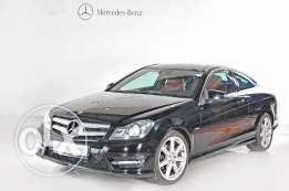 Mercedes Benz C 250 Coupe Model 2012