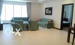 Fully furnished apartment for rent at Sanabis (Ref No: 1SBZ)