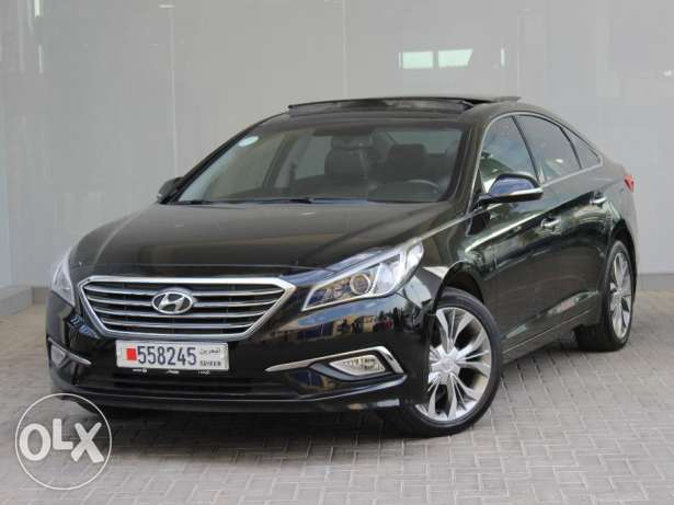 Hyundai Sonata With Panoramic Sunroof 2016 Black For Sale