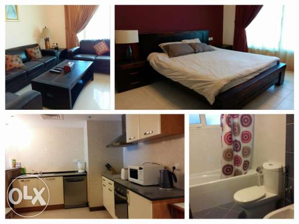 3 bedroom beatutiful flat in Amwaj/fully furnished with gym&pool جزر امواج  -  7