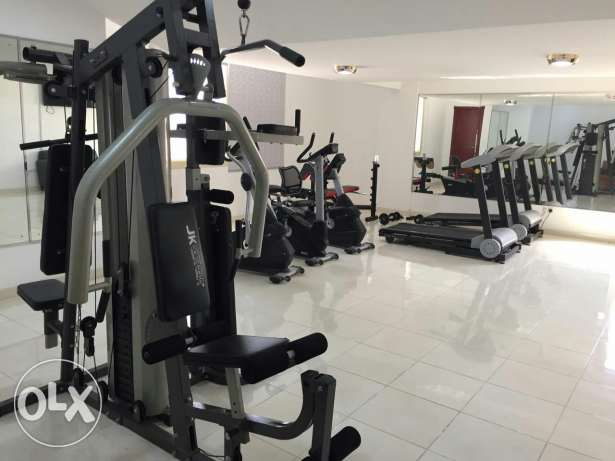 For rent brand new Two BR flat / Gym + pool البسيتين -  8