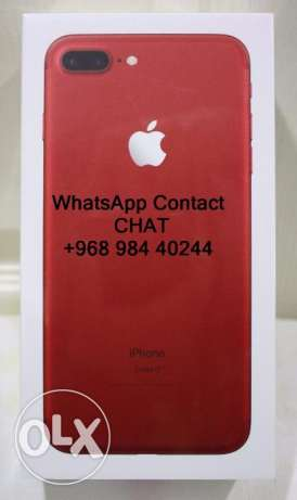 red أحمر أبل اي فون 7 زائد مقفلة 256GB iphone