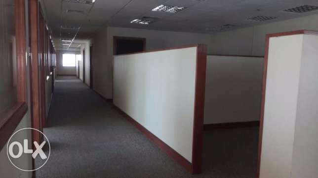Ready Office for rent (Without Furniture) in Seef السيف -  4