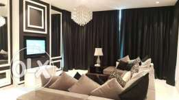 Two bedrooms flat in Seef District, Italian style.