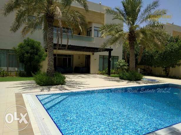 Hamala 5 BedroomLuxury semi furnished VIP villa for rent