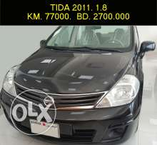 Nissan Tida 1.8 black color for sale