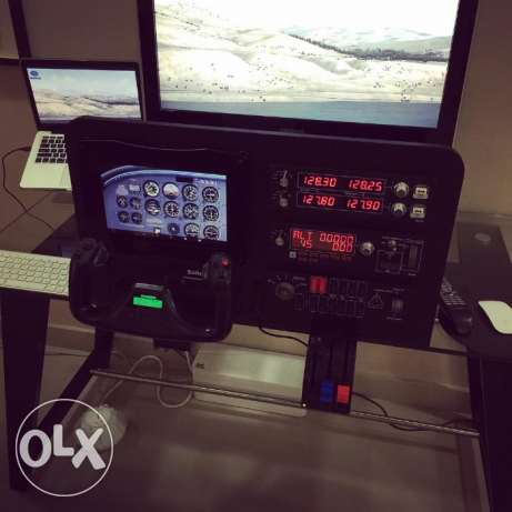 Custom Made Flight Simulator Cockpit for SALE