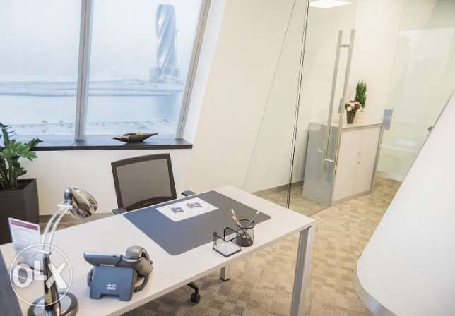 ALL INCLUSIVE Office with desks, suitable for CR, flexible terms