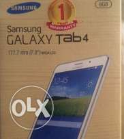For sale new samsung Tab4