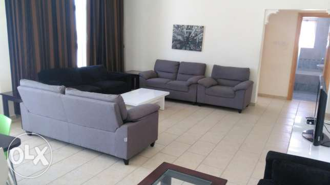 Fully furnished 3BR flat for rent السيف -  1