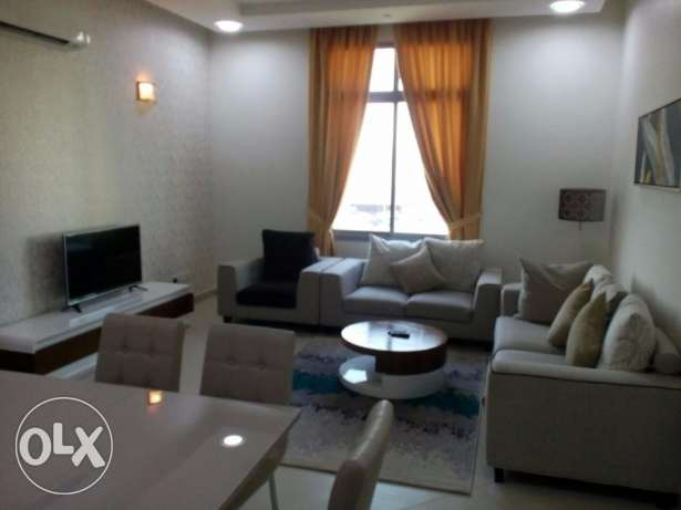 FULLY FURNISHED - Cent AC,Gym, internet, OSN, 2 bed,2 bath,park