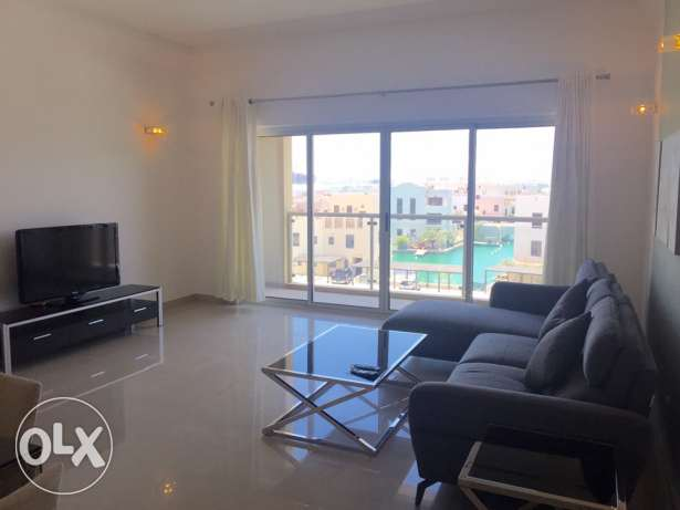 Two Bedrooms Brand new Furniture and Floating city view .
