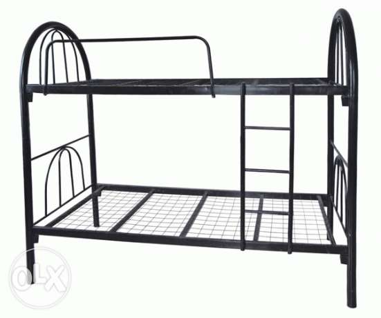 Double deck bed steel
