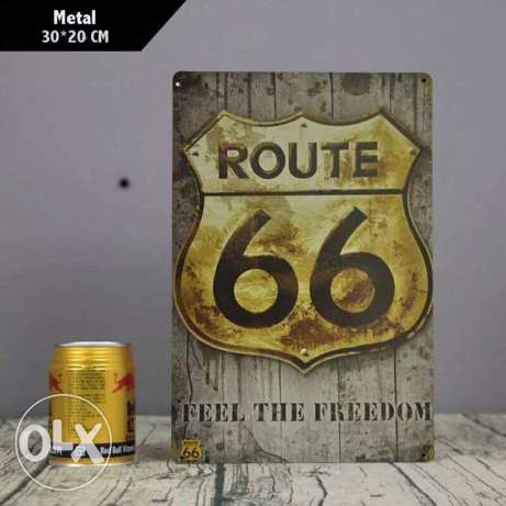 Route 66 metal