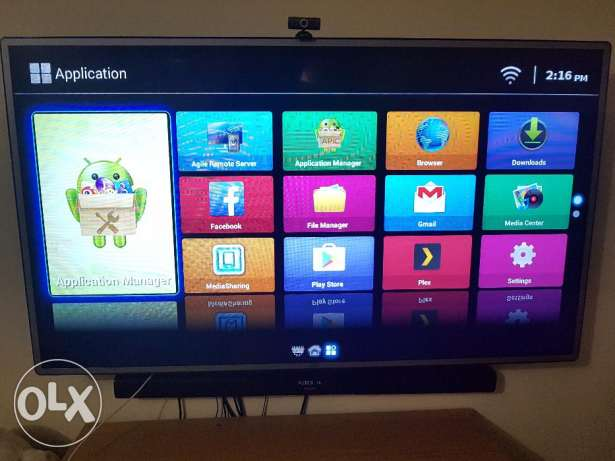 Smart tv 55 inch (just like new)