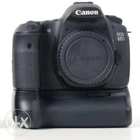 Canon 60D+Battery grip for sale