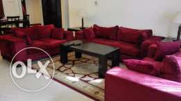 2 Bedroom Fully Furnished Apartment in Busaiteen/s.pool and gym