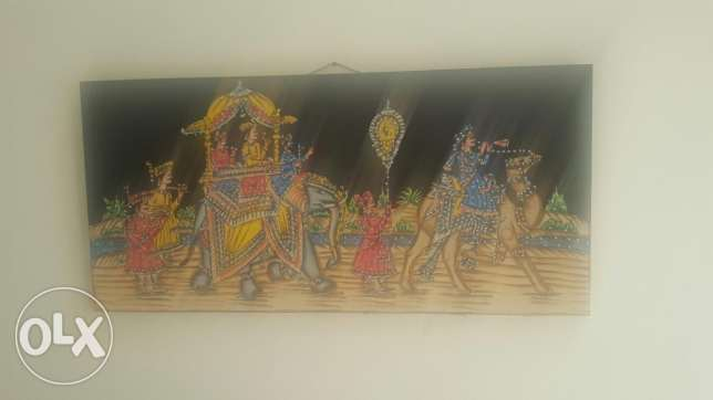 Cloth painting for 6bd