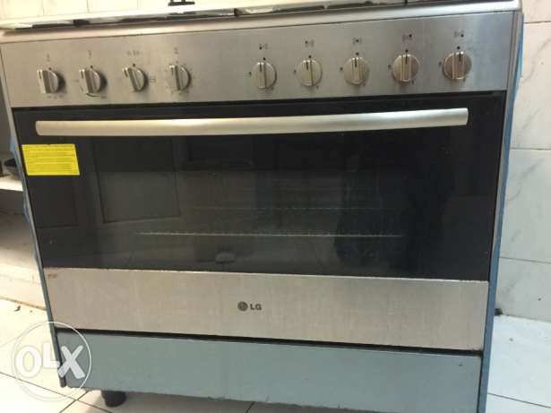 L. G cooking range