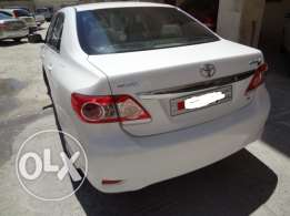 Toyota Corolla 1.6L 2012 Model