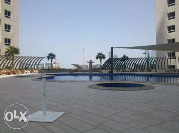 3 bedroom flat with balcony on higher floor for sale at Abraj Al Lulu