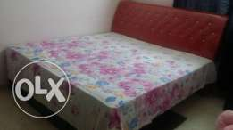 King size bed 200/200 with ortho spring mattress