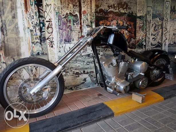 Exile Cycles Chopper Motorcycle