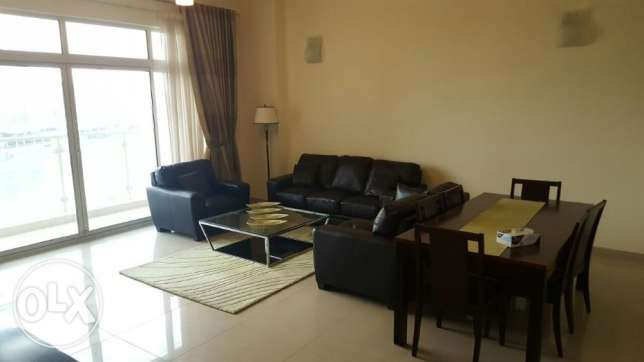 2br {lagoon view} flat for rent in amwaj island. جزر امواج  -  1