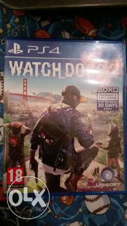 ps4 game for sale•watchdogs 2