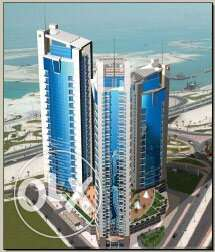 Beautiful 2 bedroom apartment with sea view for sale at Abraj Al Lulu