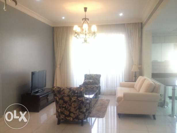 Bright and furnished 2 br apartment in Adliya