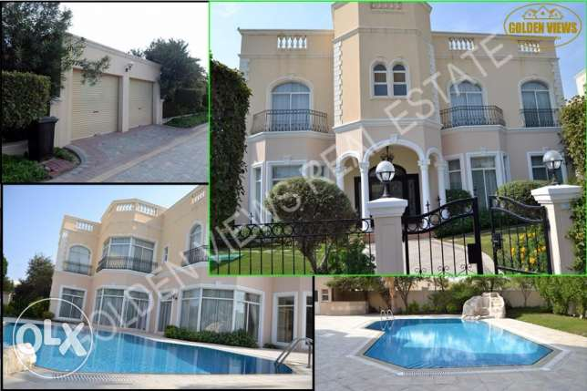 Luxury 5 BR semi furnished villa for rent in Saar excellent amenities