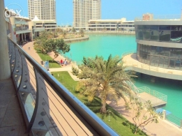 Lagoon View Beautiful 3 BR + Maid Room Apartment for sale Amwaj