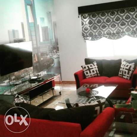 2 bedroom Stylish full furnish apmt for rent near Saar Mall Bd. 430/- سار -  4