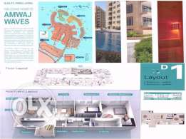 New 2bedroom apartment in Amwaj Islands