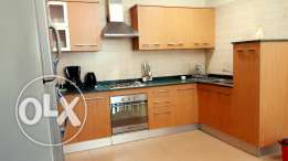 apartment with three bedrooms for rent in adliya/gym and s.pool