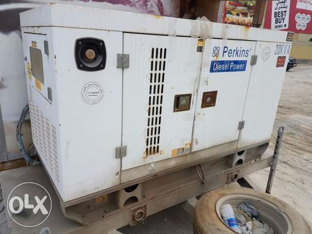 "Generator for Sale ""Perkins Brand"" 20kv"