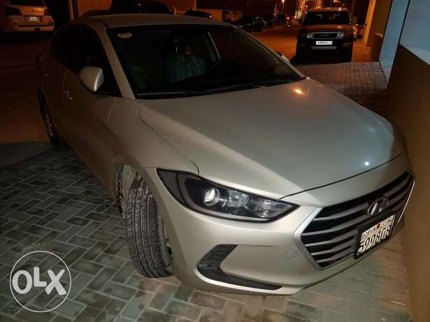 Hyundai elantra for complet instalment 115bd monthly on kfh 5 years