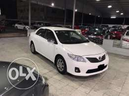 Toyota corolla 1.8 2013 singel owner with low mailage