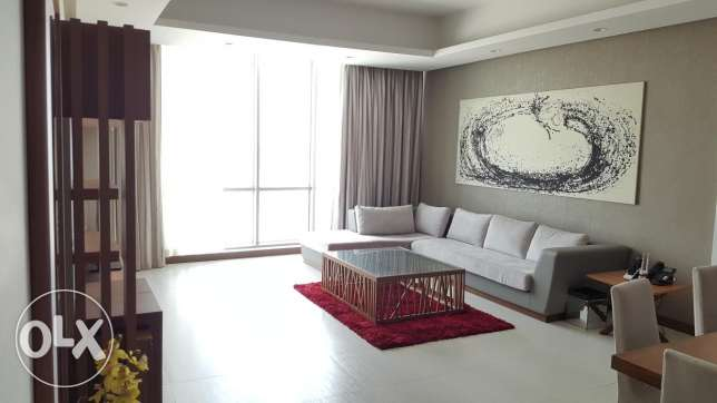 Superior view 2 Bedroom flat in Amwaj island with superior amenities