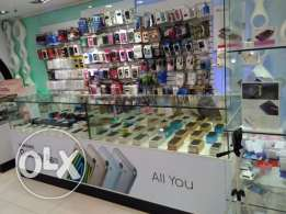 Running Mobile counter in a shop, available for rent