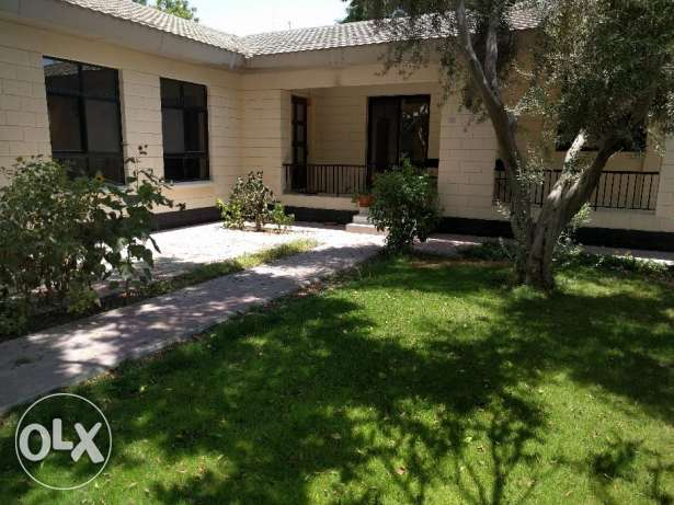 4 Bedroom semi furnished villa for rent with large private garden