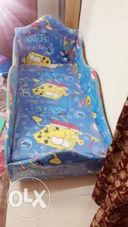 Baby bed like car design