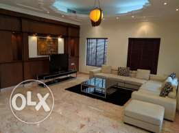 Busaiteen fully furnished modern villa for rent - all inclusive