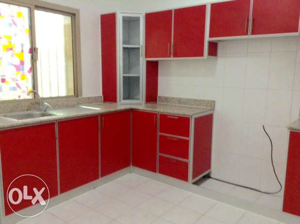 Available now in Galali 2 bedrooms flat unfurnished 250 BD inclusive